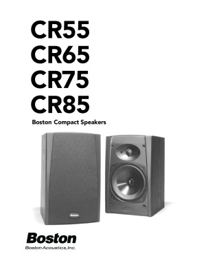 Boston Acoustics CR65