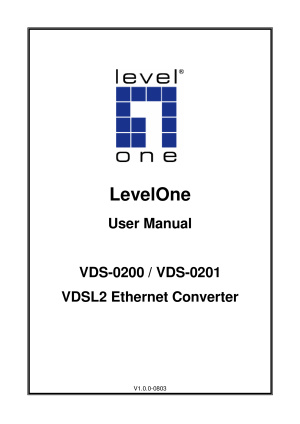 Level One VDS 0201