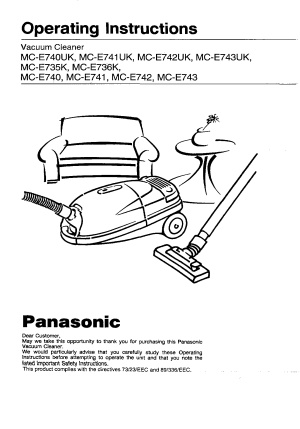 Panasonic MC E741UK