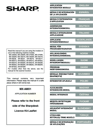 Sharp AR M277