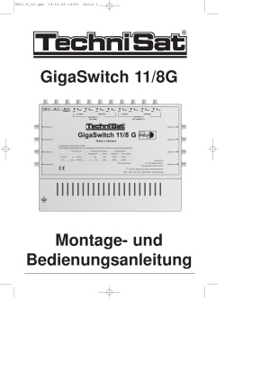 TechniSat GigaSwitch 11 8 G