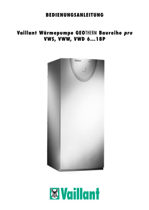Vaillant GEOTHERM VWD 18P